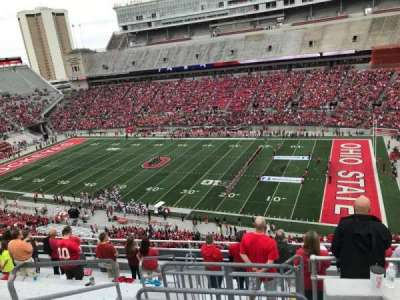 Ohio Stadium, section: 16c, row: 11, seat: 12