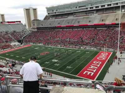 Ohio Stadium, section: 14c, row: 9, seat: 5