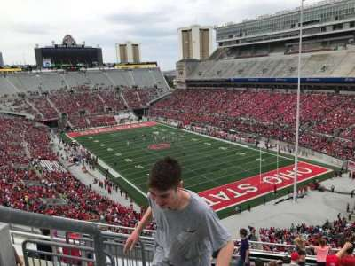 Ohio Stadium, section: 8c, row: 11, seat: 30