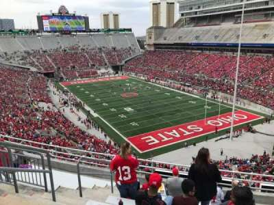 Ohio Stadium, section: 8c, row: 10, seat: 26
