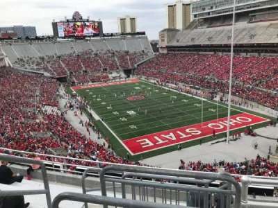 Ohio Stadium, section: 8c, row: 9, seat: 12