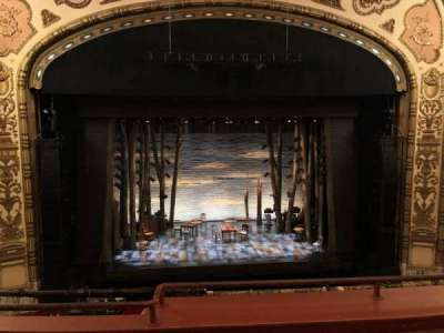 Cadillac Palace Theater section LOGE C