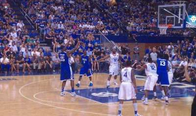 Rupp Arena, section: 31, row: a, seat: 7
