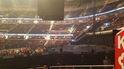 Quicken Loans Arena, section: 111, row: 11, seat: 16
