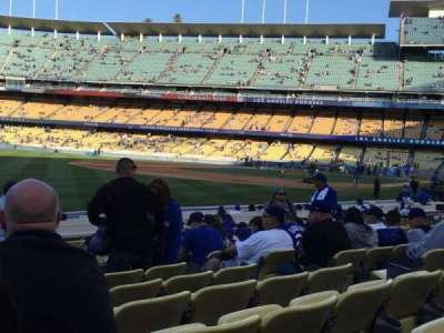 Dodger Stadium, section: 45FD, row: J, seat: 8