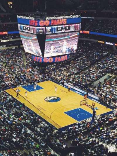 American Airlines Center, section: 304, row: J, seat: 16