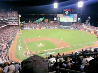 AT&T Park, section: 312, row: 7, seat: 1