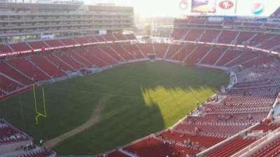 Levi's Stadium, section: 419, row: 5, seat: 17