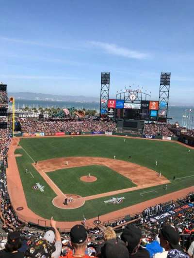 AT&T Park, section: 313, row: 4, seat: 10