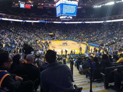 Oracle Arena section 123