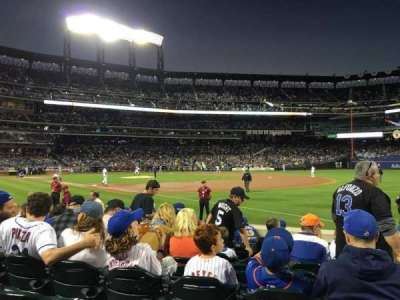 Citi Field, section: 109, row: 5, seat: 10