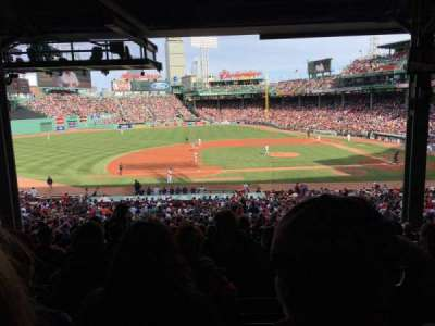 Fenway Park, section: Grandstand 26, row: 15, seat: 12