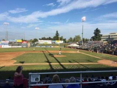 Everett Memorial Stadium, section: J, row: 8, seat: 11