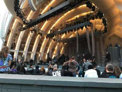 Hollywood Bowl, section: Gardenbox, row: 11, seat: 2