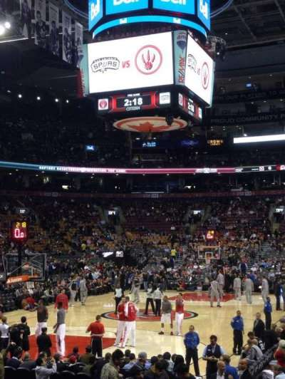 Air Canada Centre, section: 101, row: 10, seat: 7