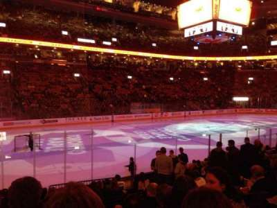 Air Canada Centre, section: 121, row: 13, seat: 11