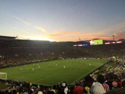 Rose Bowl, section: 28-H, row: 40, seat: 107