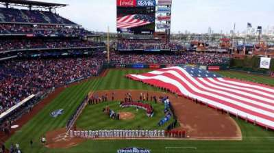 Citizens Bank Park, section: 316, row: 1, seat: 7