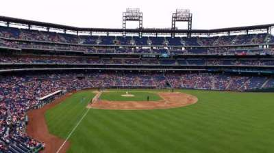 Citizens Bank Park, section: 204, row: 1, seat: 21