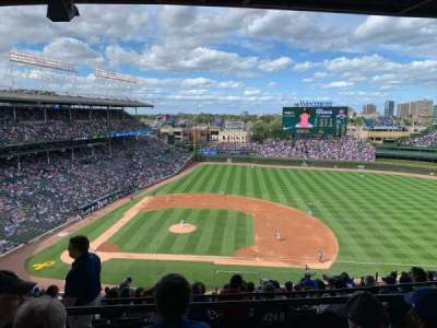 Wrigley Field section 424R