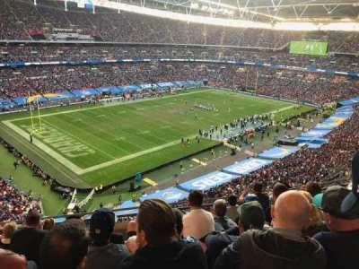 Wembley Stadium section 507