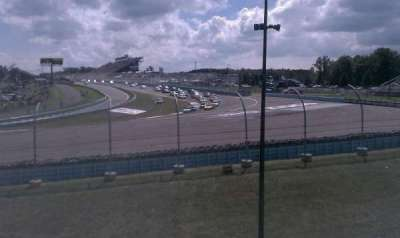 Watkins Glen International, section: Seneca Grandstand