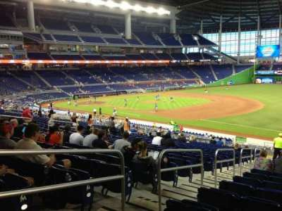 Marlins Park, section: 5, row: 21, seat: 17