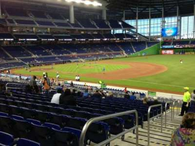 Marlins Park, section: 5, row: 16, seat: 16