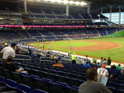 Marlins Park, section: 5, row: 16, seat: 2