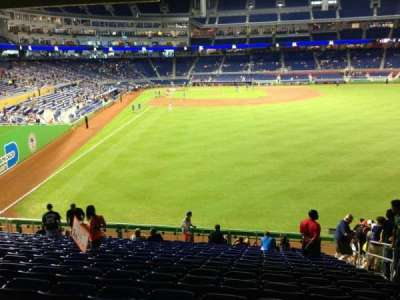 Marlins Park, section: 40, row: 9, seat: 4