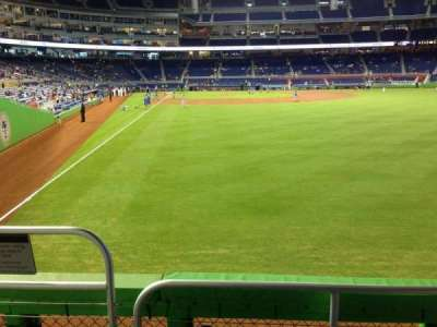 Marlins Park, section: 40, row: C, seat: 25