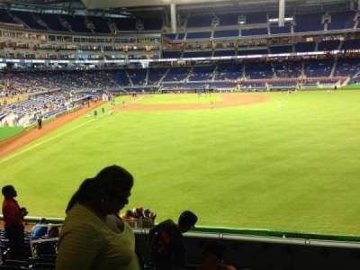 Marlins Park, section: 39, row: 7, seat: 17