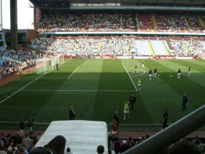 Villa Park, section: Trinity Road B5, row: 20, seat: 221