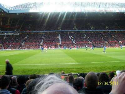 Old Trafford, section: STH123, row: KK, seat: 186