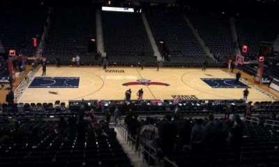 Philips Arena, section: 212, row: A, seat: 7