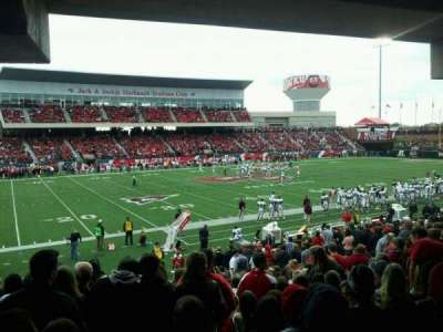 L. T. Smith Stadium section 133