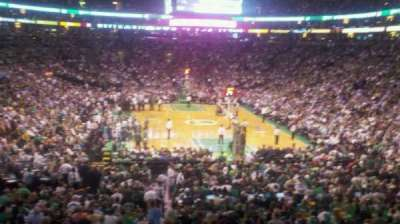 TD Garden, section: AT&T Sports Deck