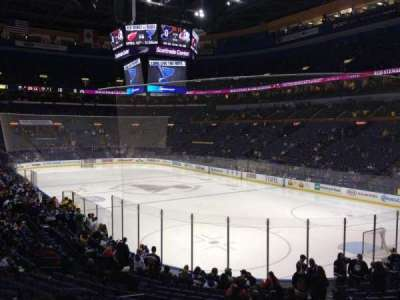 Scottrade Center, section: 125, row: T, seat: 6