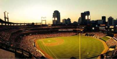 Busch Stadium, section: 431, row: 4, seat: 6
