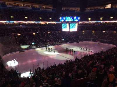 Scottrade Center, section: 204, row: 1, seat: 1