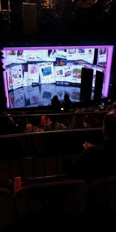 August Wilson Theatre, section: Mezzl, row: K, seat: 11