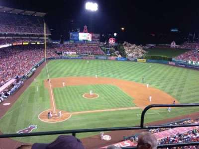 Angel Stadium, section: V422, row: C, seat: 12