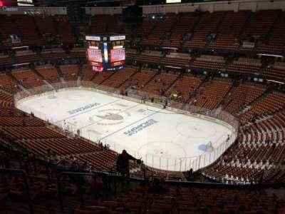 Honda Center, section: 428, row: Q, seat: 11