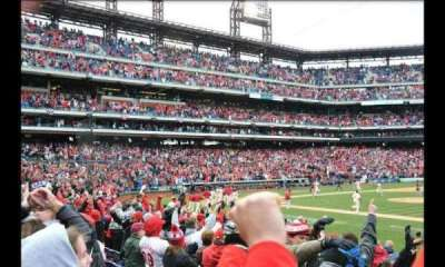 Citizens Bank Park, section: 115, row: 15
