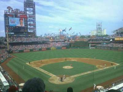 Citizens Bank Park, section: 221, row: 5, seat: 6