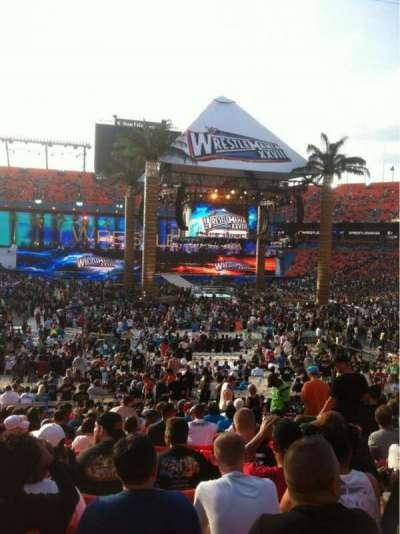 Hard Rock Stadium, section: 130, row: 21, seat: 8