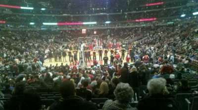 United Center, section: 117, row: 11, seat: 2