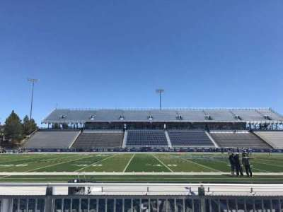 Mackay Stadium, section: E, row: 1, seat: 9