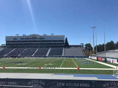 Mackay Stadium, section: H, row: 5, seat: 36