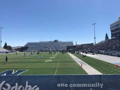 Mackay Stadium, section: One Student, row: 6, seat: Right Sect